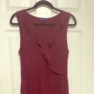 NWT Maroon Maxi Dress